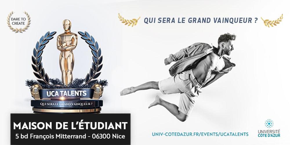 affiche du Concours UCA Talents