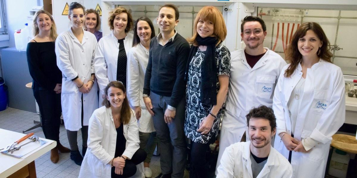 équipe de chercheurs de l'université
