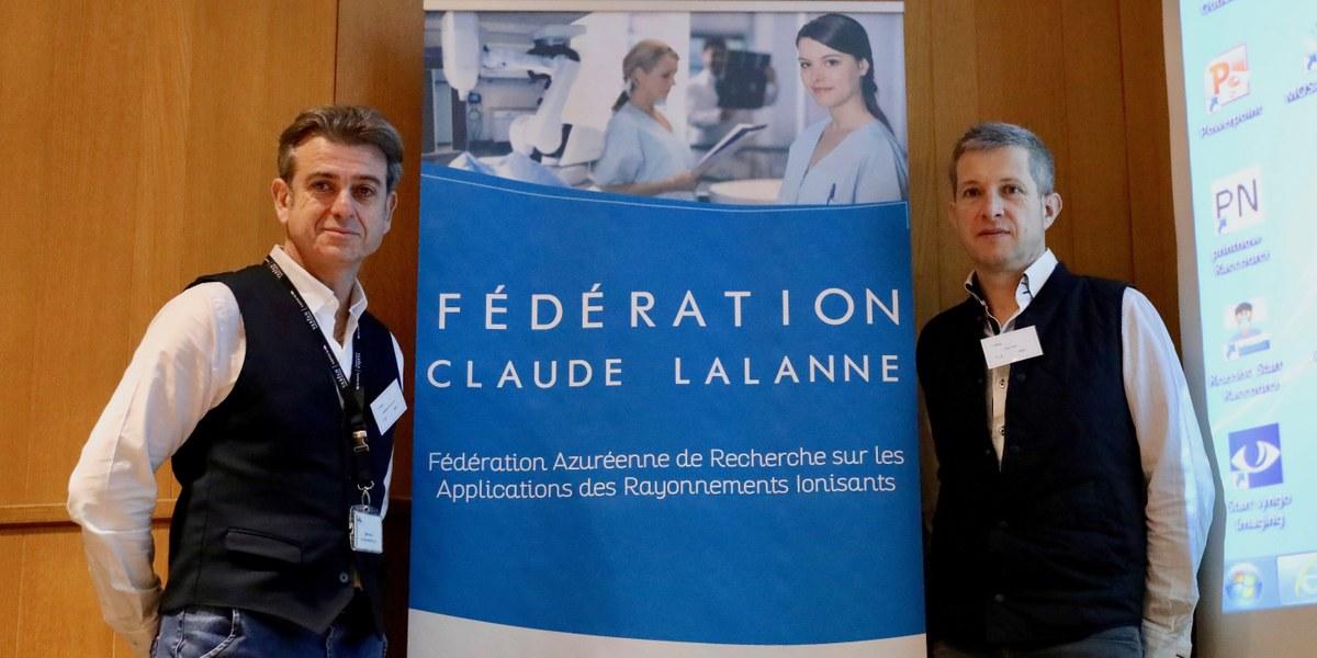 deux hommes de la fédération Claude Lalanne